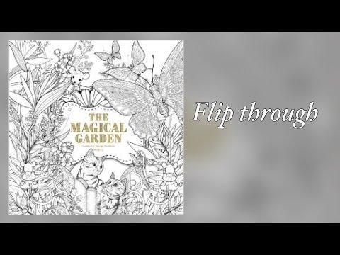 Download Youtube mp3 Mel KinglThe Magical GardenColoring BookFlip Through