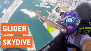 Girl Skydives Out of a Glider | No Fear