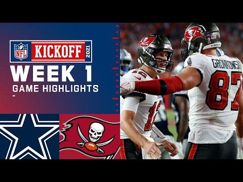 KICKOFF INOLVIDABLE COWBOYS vs BUCCANEERS | Semana 1 2021 NFL Game Highlights