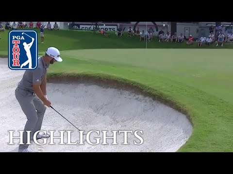 Dustin Johnson?s Round 3 highlights from FedEx St. Jude