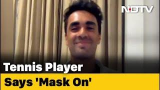 Coronavirus: 20-Year-Old Tennis Player 'Raps For Impact' - NDTV