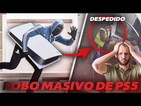¡PS5 ES LA FAVORITA DE LOS LADRONES, ROBOS MASIVOS POR LOS REPARTIDORES CREAN EL CAOS! - Sasel