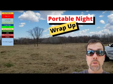 Ham Nuggets Live - Portable Night Wrap Up