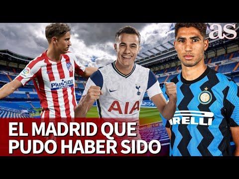 El Real Madrid que pudo haber sido… Achraf, Reguilón… | Diario AS