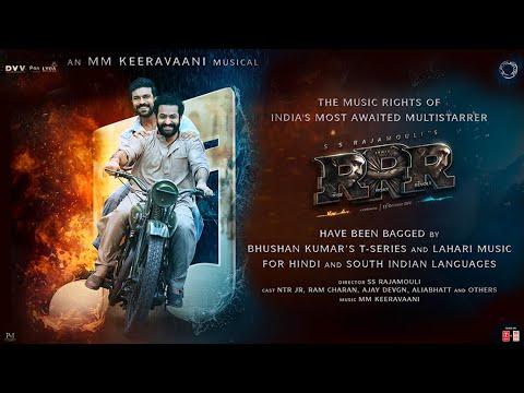 RRR Music Announcement   SS Rajamouli   MM Keeravaani   Junior NTR   Ram Charan   Ajay Devgn