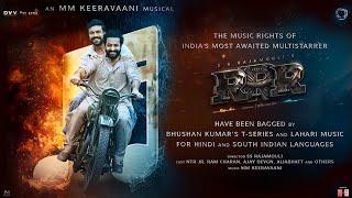 RRR Music Announcement | SS Rajamouli | MM Keeravaani | Junior NTR | Ram Charan | Ajay Devgn - TSERIES