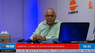 COMPLICIDAD DEL GOBIERNO Y REMESADORAS
