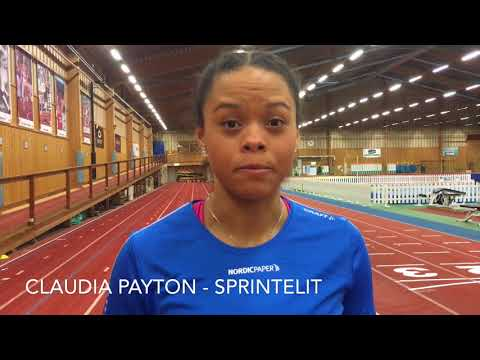 Claudia Payton, sprinter blir Nordic Papers nya ansikte utåt på kraftpapperssidan.