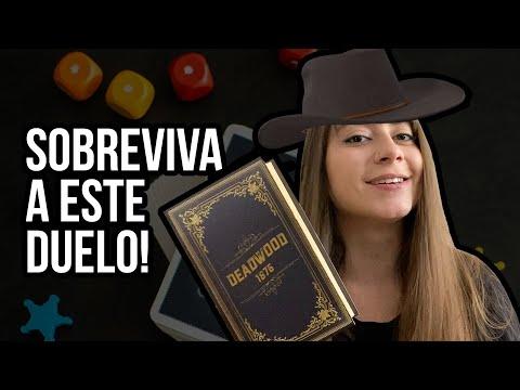 CIDADES SOMBRIAS: DEADWOOD 1876 - Jogo na Mesa!