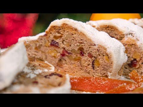 🎄 ШТОЛЛЕН 🎄 РОЖДЕСТВЕНСКИЙ КЕКС Stollen | праздничная новогодняя рождественская выпечка | десерт