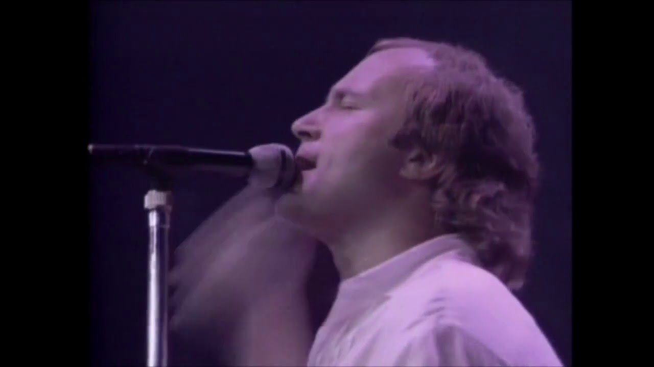 Phil Collins - Sussudio-Behind The Lines (Live 1985) (Promo Only)