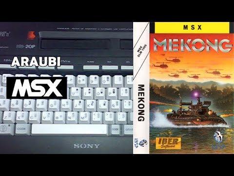 Mekong (Genesis, 1988) MSX [735] Walkthrough Comentado