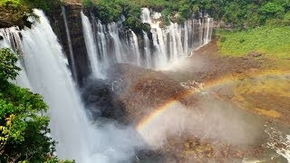 Angola - Kalandula falls 2nd biggest waterfalls in Africa
