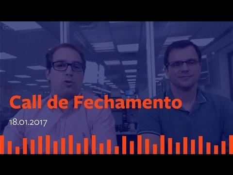 Call de Fechamento  - 18 de Janeiro de 2017.