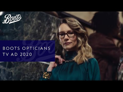 boots.com & Boots Discount Code video: Boots Opticians TV Advert | They're Boots Darling | Boots UK