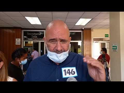 Isaac Dubon y Virgilio Padilla presentan recurso de amparo para que se habilite el voto en EEUU.