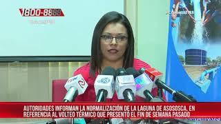 Laguna de Asososca se normaliza con respecto al volteo térmico – Nicaragua