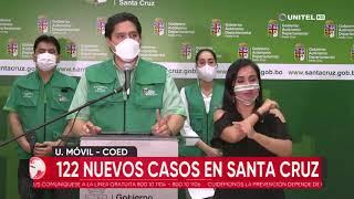 Santa Cruz supera los 41 mil casos de Covid-19 de los que se recuperaron más de 33 mil