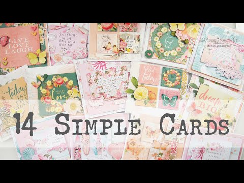 Let's craft together ! ~ Beginners Cardmaking ✂️ Maremi's Small Art