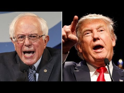 SHOCKER! Bernie Sanders Populism the Way to Beat Trump