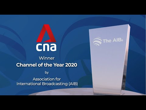 CNA - Channel of the Year at the 2020 Association for International Broadcasting awards