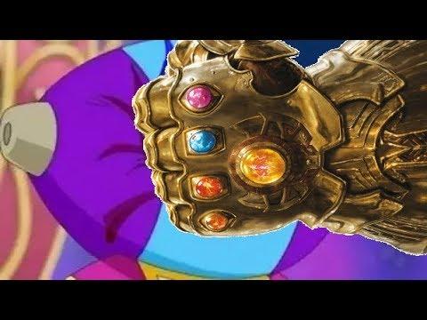 Thanos vs Zeno and Gods Power Levels (Dragon Ball Super vs Marvel)
