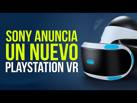 SONY confirma un nuevo PLAYSTATION VR para PS5