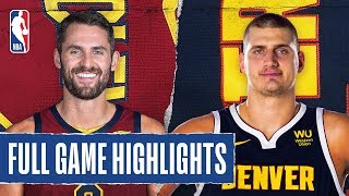 CAVALIERS at NUGGETS | FULL GAME HIGHLIGHTS | January 11, 2020
