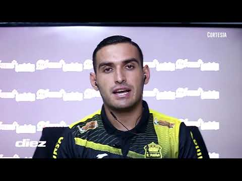 """Omar Rosas """"Vivo del gol pero si la puedo pasar también cuenta"""""""