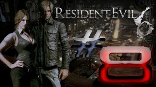 Resident Evil 6 Detonado (Walkthrough) Leon Parte 8 LUTA EPICA LEON VS CHRIS HD