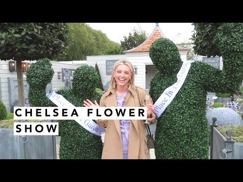 INSIDE THE CHELSEA FLOWER SHOW! | Estée Lalonde