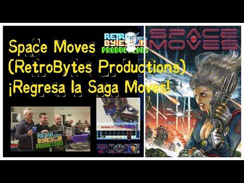 Space Moves (RetroBytes Productions) Amstrad CPC ¡Regresa la Saga Moves!