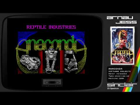 ANACONDA Zx Spectrum by Software Projects