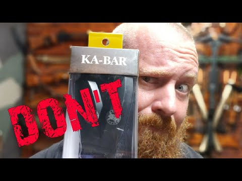 Ka-Bar Throwing Knife Set ( Don't Buy Until You Watch )