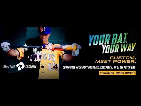 Build Your Own DeMarini Custom Bat at JustBats.com!