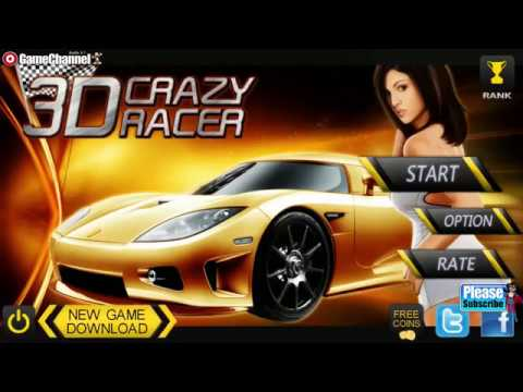 Crazy Racer 3D Endless Race / Sports Car Racing Game / Android Gameplay Video