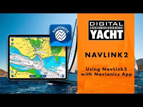 Using NavLink2 with Navionics Boating App