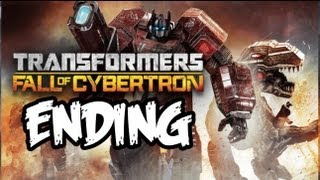 Transformers Fall of Cybertron ENDING - Gameplay Walkthrough - Part 16 - STREET FIGHTER!! (Xbox 360)