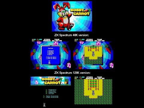 Canal Homebrew ZX-DEV Conversions: Bobby Carrot (Couvej)