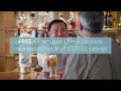 FREE All Inclusive Drinks Upgrade with Fred. Olsen