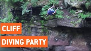 Insane Cliff Diving Party | High Dives
