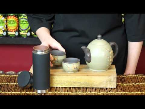 The Republic of Tea Yixing Clay Blossom Tea Set