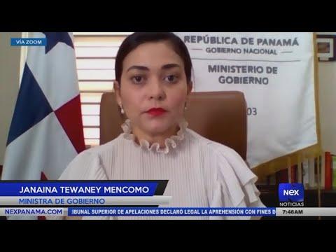 Entrevista a Janaia Tewaney Mencomo, Ministra de gobierno