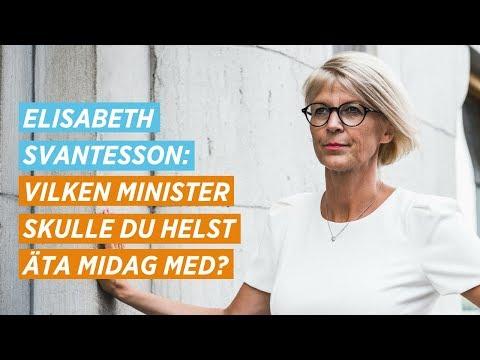 Elisabeth Svantesson - utfrågning