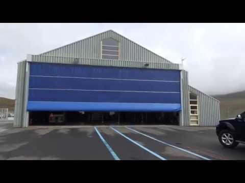 Ritter: Helo-hangar på Vagar