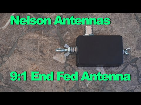 Nelson Antennas 9:1 End Fed Antennas, Does it work with a FT991A or KX2?