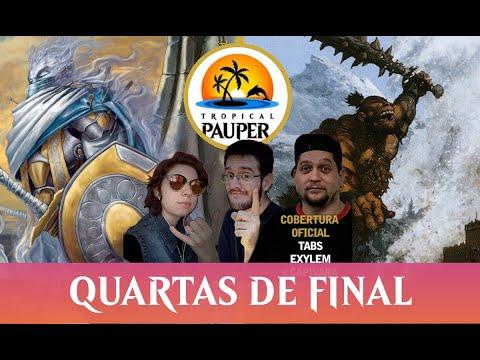Mardu Monarch VS Izzet Skred - Tropical Pauper 0.09 - Quartas de Final