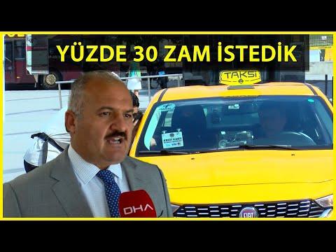 Taksiciler Esnaf Odası Başkanı Aksu: Taksimetre Açılış Ücreti 10 Lira Olmalı
