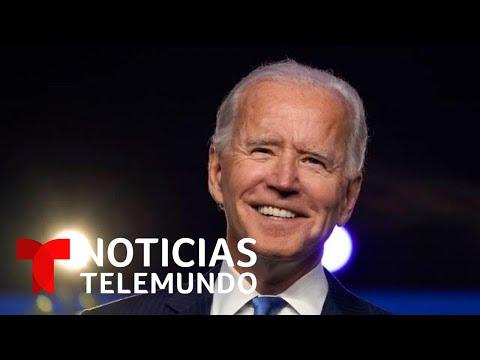 Así fue el momento cuando Noticias Telemundo anunció que Joe Biden es el presidente electo de EE.UU.