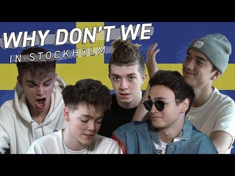 """Why Don't We in Stockholm - """"Infart Kundparkering"""""""